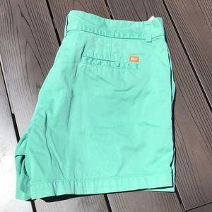 Vineyard Vines mint green shorts 12